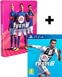 FIFA 19 Limited Steelbook Edition inkl. Preorder Boni (PS4)