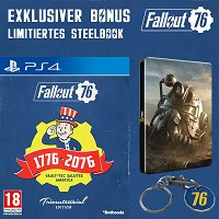 Fallout 76 Limited Tricentennial Edition uncut + Trolley Token + Steelbook (PS4)