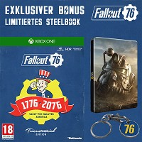 Fallout 76 Limited Tricentennial Edition uncut + Trolley Token + Steelbook (Xbox One)