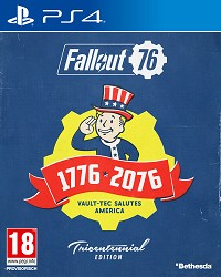 Fallout 76 Limited Tricentennial Edition uncut + Trolley Token (PS4)