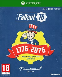 Fallout 76 Limited Tricentennial Edition uncut + Trolley Token (Xbox One)