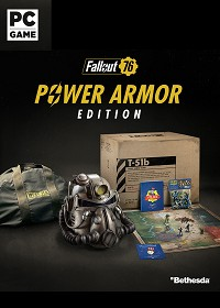 Fallout 76 Power Armor Collectors Edition uncut CH Import (PC)