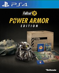 Fallout 76 Power Armor Collectors Edition uncut CH Import (PS4)