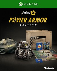 Fallout 76 Power Armor Collectors Edition uncut CH Import (Xbox One)