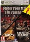 Far Cry 2 & Brothers in Arms 3 Hells Highway Doublepack uncut (Xbox360)