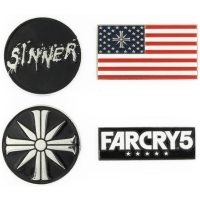 Far Cry 5 Cult Magnete (4er-Pack) (Merchandise)