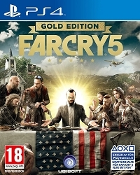 Far Cry 5 Limited Gold Edition AT uncut inkl. 10 Bonus DLCs + Far Cry 3 Remastered (PS4)