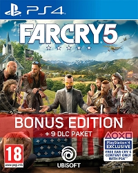 Far Cry 5 [uncut Bonus Edition] (PS4)