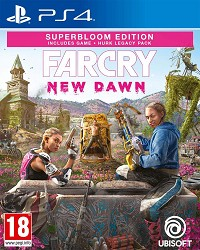 Far Cry New Dawn Superbloom Edition uncut inkl. Hurk Legacy Pack - Cover beschädigt (PS4)