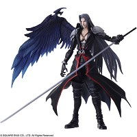 Final Fantasy VII Bring Arts Actionfigur Sephiroth (18 cm) (Merchandise)
