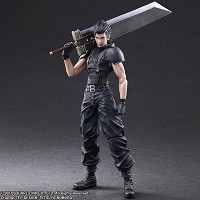 Final Fantasy VII Crisis Core Actionfigur Zack (27 cm) (Merchandise)