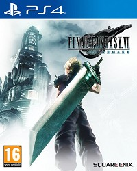 Final Fantasy VII Remake (Final Fantasy 7) Bonus DLC Edition (PS4)