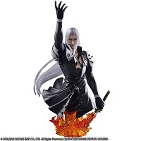 Final Fantasy VII Static Arts Büste Sephiroth (19 cm) (Merchandise)