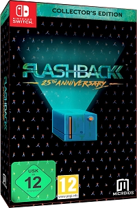 Flashback 25th Anniversary Collectors Edition (Nintendo Switch)