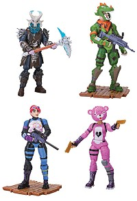 Fortnite Squad Mode Actionfiguren 4er-Pack (10 cm) (Merchandise)