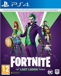 Fortnite The Last Laugh Bundle EU (Code in a Box) - Cover beschädigt (PS4)