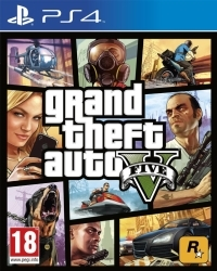 GTA 5 - Grand Theft Auto V Bonus uncut (Premium) (PS4)