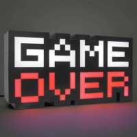 Game Over Licht V2 (Collectible Night Light) (Merchandise)