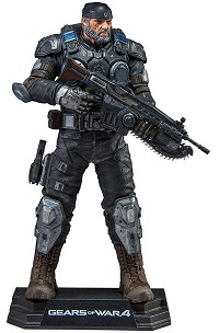 Gears of War 4 - Marcus Fenix Action Figur (18cm) (Merchandise)
