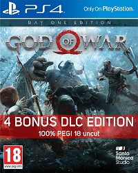 God Of War 4 uncut PEGI Bonus Edition (PS4)