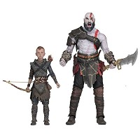 God of War 2018 Kratos & Atreus Figuren Doppelpack (13-18 cm) (Merchandise)