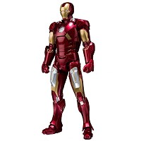 Iron Man 3 Mark VII Actionfigur (15 cm) (Merchandise)