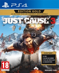 Just Cause 3 Gold uncut + 7 DLCs (PS4)