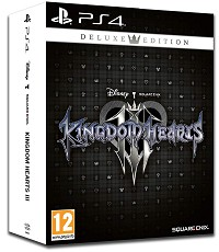 Kingdom Hearts 3 Deluxe Steelbook Edition (PS4)