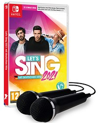 Lets Sing 2021 mit deutschen Hits (+ 2 Mics) (Nintendo Switch)