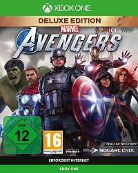 Marvels Avengers Deluxe Edition + Aufnäher Set (Xbox One)