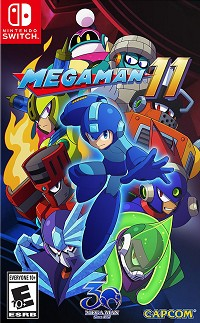 Mega Man 11 US Edition - Cover beschädigt (Nintendo Switch)