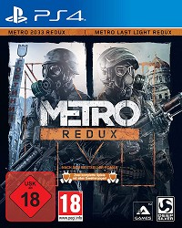 Metro Redux: Metro Last Light + Metro 2033 Doppelpack AT uncut (PS4)