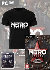 Metro: Exodus Aurora AT uncut + T-Shirt (PC)