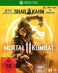 Mortal Kombat 11 Limited Day 1 Edition uncut inkl. Shao Kahn (USK) (Xbox One)