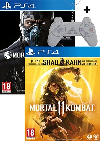 Mortal Kombat 11 + XL uncut Edition Double Feature + BETA KEY + Bonus Charakter + Schlüsselanhänger (PS4)
