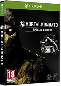 Mortal Kombat X D1 Special Steelcase Goro Edition uncut (Xbox One)