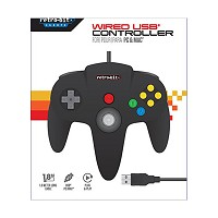 N64 Wired USB Controller PC/Mac (Schwarz) (PC)