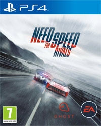 Need for Speed Rivals - Cover beschädigt (PS4)