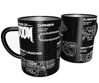 Official DOOM Weapons Steel Tasse (Merchandise)