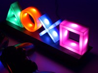 Offizielles Playstation Icons LED Licht (Merchandise)