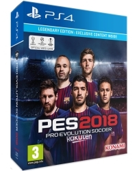 PES 2018: Pro Evolution Soccer Legendary Edition (PS4)