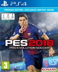 PES 2018: Pro Evolution Soccer Premium Edition (PS4)