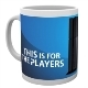 PS4 Players Tasse