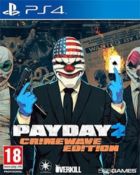 Payday 2 Limited Crimewave Edition EU uncut - Cover beschädigt (PS4)
