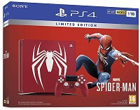 PlayStation 4 Pro Konsole 1 TB Spiderman Limited Edition inkl. Bonus-Kapitel (PS4)