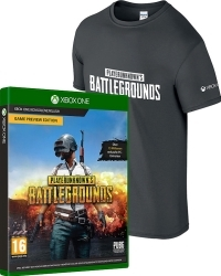 PlayerUnknowns Battlegrounds (Code in a Box) uncut + T-Shirt (L) (Xbox One)