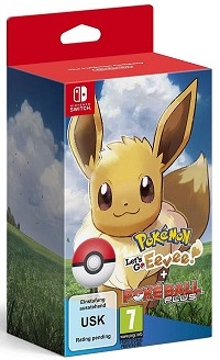 Pokemon: Lets Go! Evoli! + Pokeball Plus (Softbundle) (Nintendo Switch)