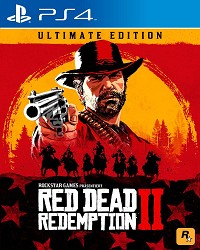 Red Dead Redemption 2 Limited Ultimate Steelbook Edition uncut  - Verpackung beschädigt (PS4)
