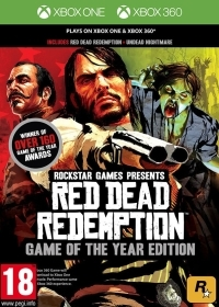 Red Dead Redemption Game of the Year Edition classic uncut - Cover leicht beschädigt (Xbox One)