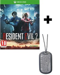 Resident Evil 2 Remake uncut + Umbrella Dog Tag (Xbox One)